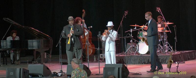 The Mario Abney Quartet photo - Performing at The 33rd ANNUAL FREIHOFER'S SARATOGA JAZZ FESTIVAL June 26 - 27, 2010, at The Saratoga Performing Arts Center in Saratoga, NY