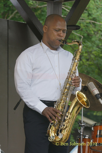 J.D. Allen photo - Performing at The 33rd ANNUAL FREIHOFER'S SARATOGA JAZZ FESTIVAL June 26 - 27, 2010, at The Saratoga Performing Arts Center in Saratoga, NY