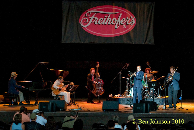 - Performing at The 33rd ANNUAL FREIHOFER'S SARATOGA JAZZ FESTIVAL June 26 - 27, 2010, at The Saratoga Performing Arts Center in Saratoga, NY