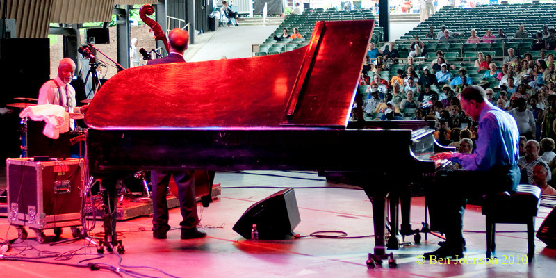 Ramsey Lewis Trio photo - Performing at The 33rd ANNUAL FREIHOFER'S SARATOGA JAZZ FESTIVAL June 26 - 27, 2010, at The Saratoga Performing Arts Center in Saratoga, NY