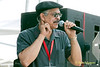 Jeff Duperon photo - Emcee of The 2010 West Oak Lane Jazz Festival