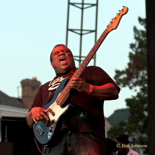 Michael Manson photo - performing at The 2010 West Oak Lane Jazz Festival
