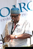 Umar Raheem photo - performing with The Freedom Jazz Orchestra at The 2010 West Oak Lane Jazz Festival