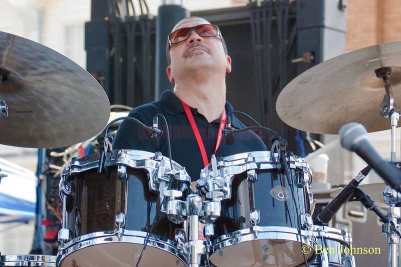 Steve Johns photo - performing with Sonny Fortune at The 2010 West Oak Lane Jazz Festival