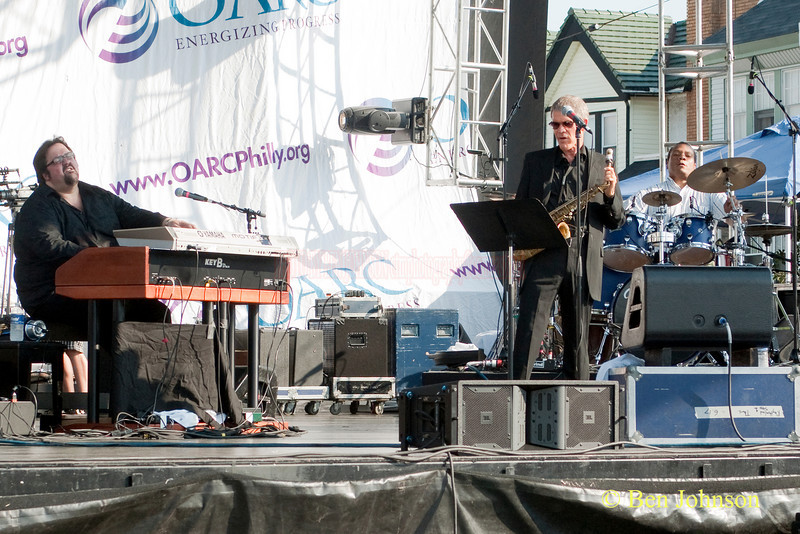 David Sanborn. Gene Lake and Joey D. Francesco - performing at The 2010 West Oak Lane Jazz Festival
