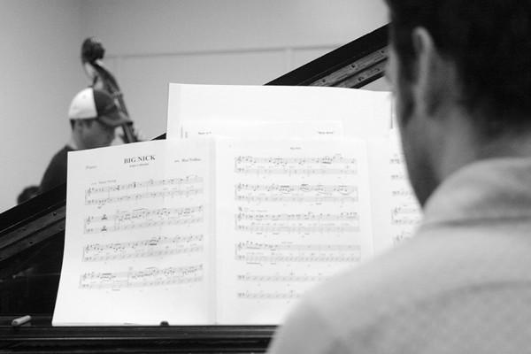 20090208 Big Band Rehearsal