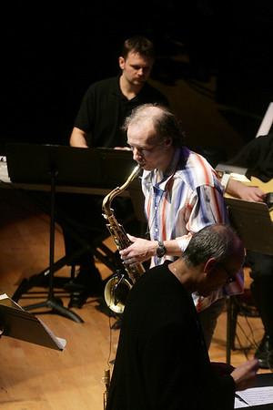 20090221 Moores School Jazz Orchestra with Bill Evans