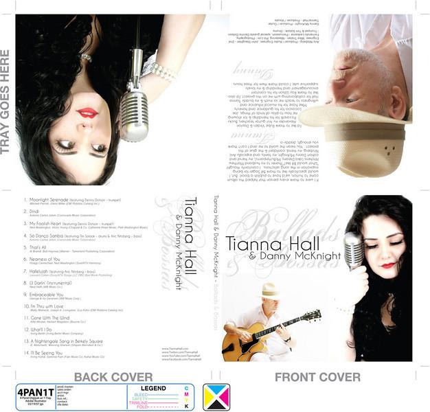 """Tianna Hall, Danny McKnight. """"Ballads & Bossas"""". <br />  <a href=""""http://www.tiannahall.com"""">http://www.tiannahall.com</a>"""