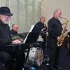Wagga Jazz Quartet in playing mode