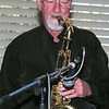 Peter Brown and saxophone