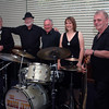 Peter Brown, Charlie Down, George Ceely, Rebecca Mutton, Mike<br /> McCall: The Wagga Jazz Quartet with Rebecca Mutton.