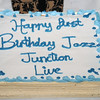 It was Jazz Junction Live's first birthday... So we had to have cake!