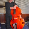 Peter Brown and his precious double bass