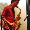 Sax player extraordinaire... Julian Fung!