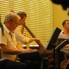 David Wall (keyboards), Damian Evans (Bass), Anthony Stanislavski (Drums)
