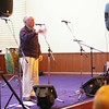The remaining photos are by Steven Spink<br /> <br /> As always, George introduces the band....