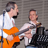 Dale and Patrick decide that this Gypsy jazz is a fun thing and the audience loved it!