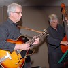 Peter Massey on guitar with Peter Brown on double bass.