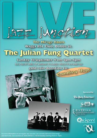 18/9/11 The Julian Fung Quartet
