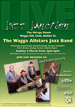 6/3/2011 The Wagga Allstars Jazz Band