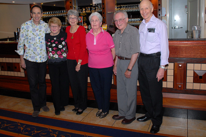 L to R: Dale Allison, Jean Haste, Judy Stubbs, Patricia Ceely, George Ceely and David Kennedy