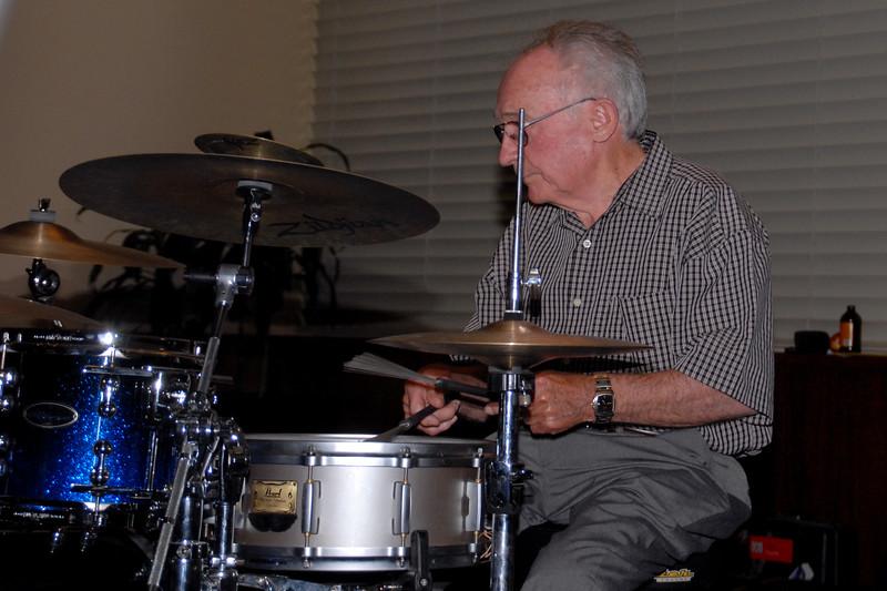 George Ceely on drums