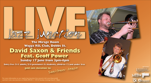 17/6/12 David Saxon & Friends feat Geoff Power
