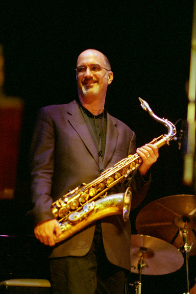 Michael Brecker performs at Yoshi's Nitespot in the year 2000.