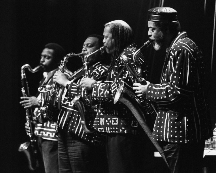 World Saxophone Quartet performs at Kimball's East in Emeryville, CA on January 17, 1992.