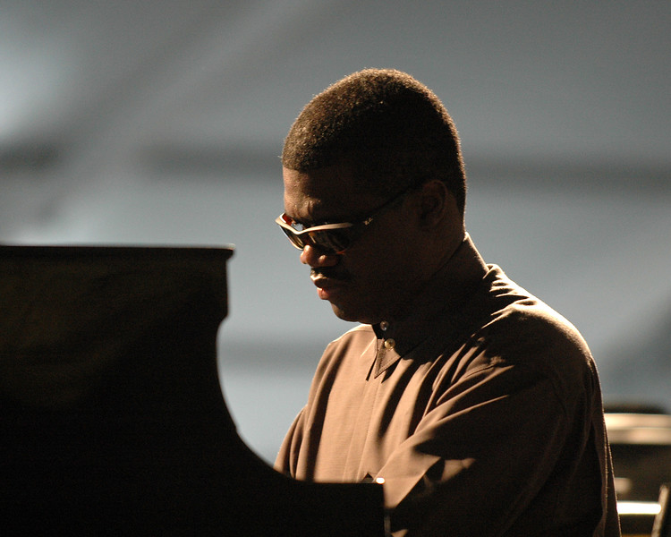 Marcus Roberts performs at the New Orleans Jazz & Heritage Festival on May 5, 2006.