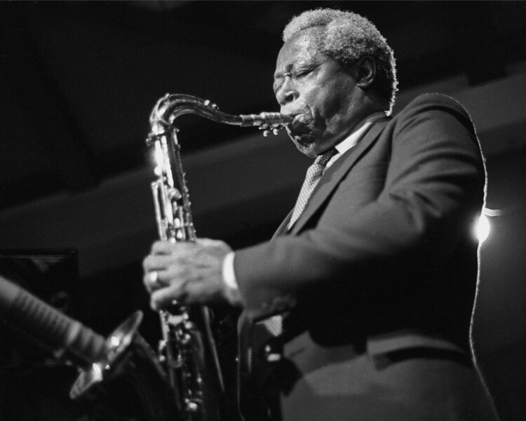 Charles Rouse performing live with Mal Waldron at Yoshi's in Oakland on January 8, 1987.