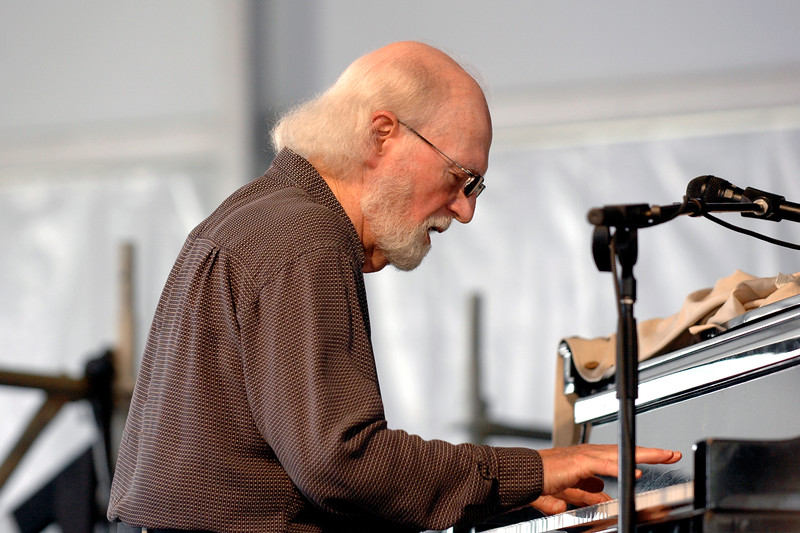 Mose Allison performs at the New Orleans Jazz & Heritage Festival on April 28, 2007.