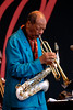Ornette Coleman performs at the Monterey Jazz Festival on September 23, 2007.