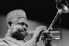 Dizzy Gillespie performs at Kimball's East in Emeryville, CA in 1990.