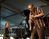 McCoy Tyner and Ravi Coltrane perform at a Tribute to John Coltrane at the New Orleans Jazz & Heritage Festival on May 1st, 2005.