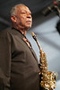 Frank Morgan performs at the New Orleans Jazz & Heritage Festival on May 6, 2001.