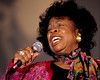 Betty Carter performs at the New Orleans Jazz & Heritage Festival on May 2, 1998.
