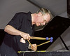 Gary Burton performs at the New Orleans Jazz & Heritage Festival on April 28, 2000.