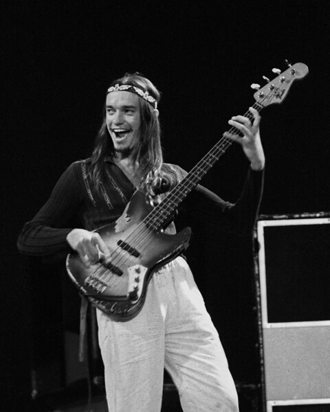 Jaco Pastorius performs with Weather Report at the Greek Theater in Berkeley, CA on May 25, 1979.