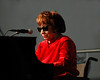 Shirley Horn performs at the New Orleans Jazz & Heritage Festival on April 23, 2005.
