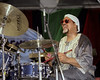 Idris Muhammad's Nu Legends perform at the New Orleans Jazz & Heritage Festival on May 6, 2001.