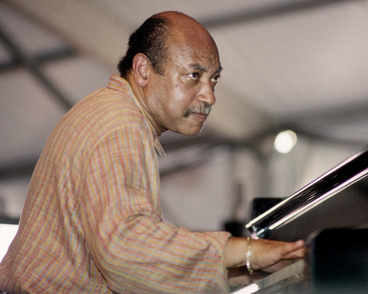 Kenny Barron performs at the New Orleans Jazz & Heritage Festival on May 5, 1996.