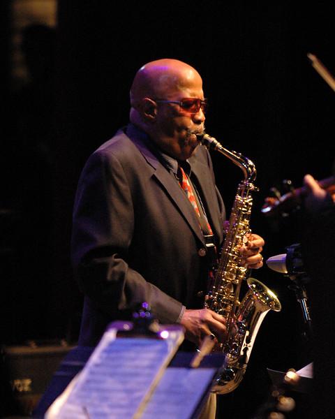 John Handy performs at the Monterey Jazz Festival on September 16, 2005.