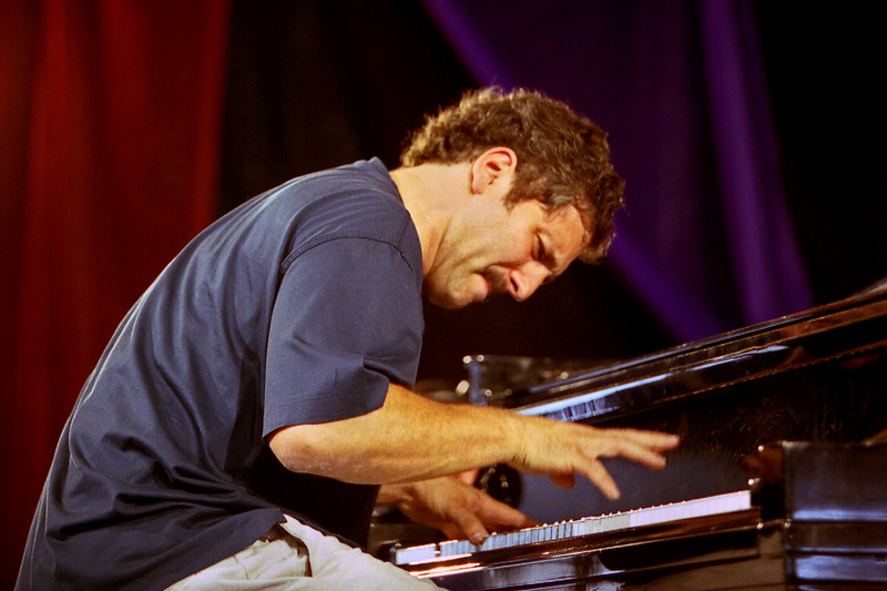 David Torkanowsky (Dianne Reeves, Boney James) performs with Astral Project at the New Orleans Jazz  & Heritage Festival on May 5, 2001.