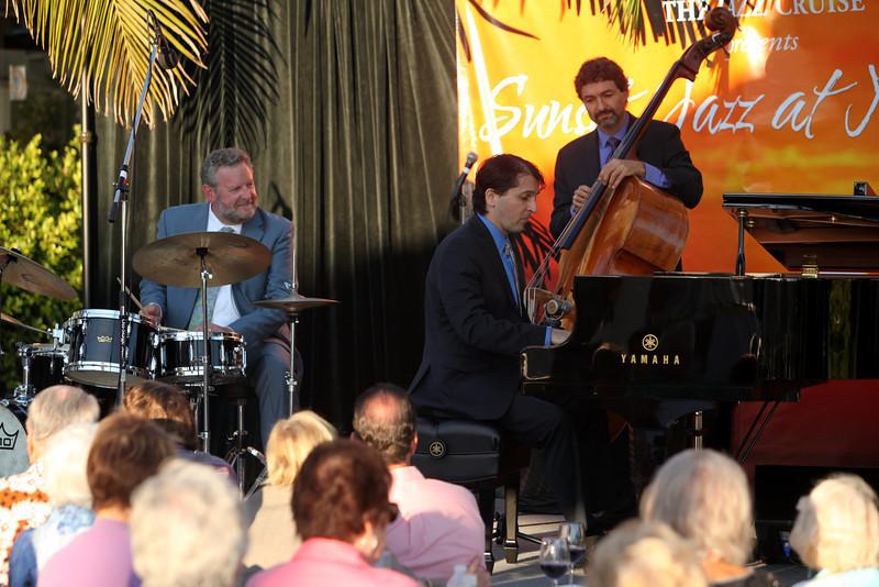 Sunset Series IV Newport Beach 8/7/2013 The Jeff Hamilton Trio celebrating Jeff's 60th birthday