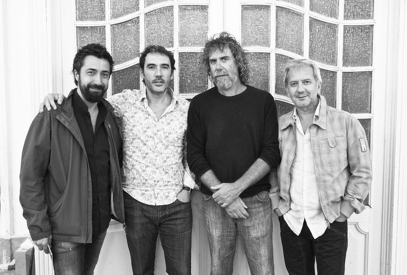 Alfredo Laviano, Daniele Di Bonaventura, Marcello Peghin, Felice Del Gaudio (Daniele Di Bonaventura Band'Union)