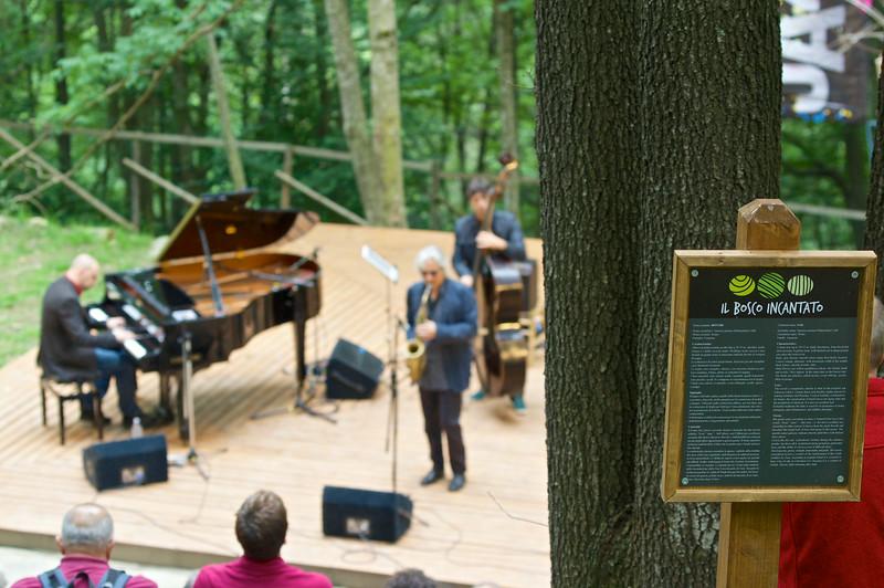 Perico Sambeat Italian Quartet a Il Bosco Incantato
