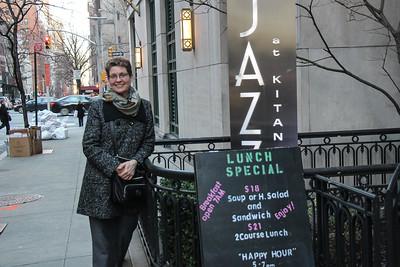 Ellen is ready! Anke Helfrich Quartet - Jazz at Kitano.