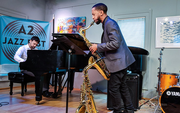 Balance - Marcus Elliot and Michael Malis - A2 Jazz Fest 9-30-2018