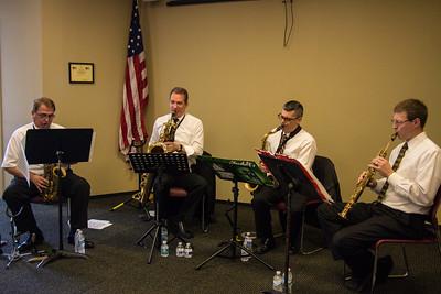 North Star Saxophone Quartet -  Paul Onachuck (alto), Keith Kaminski (baritone), Len Temelini (tenor), Carl Cafagna (soprano)